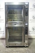 Bki Double Stacked Electric Commercial Rotisserie Oven Model Vgg-8 Capacity 80