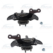 Pair Front Hub Bearing Knuckle Assembly Fit 12-17 Toyota Camry