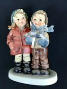 Goebel Hummel Figurine, Limited Edition, A Star For You In Collectible Tin,2222