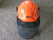 Stihl Forestry Helmet System 6035-1 Type 1 Class G And C Ear Protection