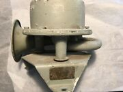 Federal Signal Us Navy Horn Alarm Brass Ship Ic/h3s4 Very Clean Inside Works