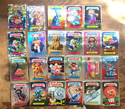 Garbage Pail Kids Chrome 3rd Series Lot 23 Cards Refractor Silver Hologram