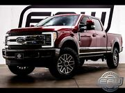 2019 Ford F-250 4wd Crew Cab King Ranch 2019 Ford Super Duty F-250 Srw 4wd Crew Cab King Ranch 40593 Miles Red Diesel Tr