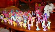Large Lot Vintage 1980and039s - 2018 My Little Pony Ponies Playsets And Accessories