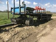 Arctic Bale Trailer And Dolly. Straw Trailer