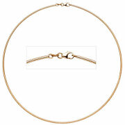 Necklace 585 Rose Gold 0 1/16in 16 17/32in Rotgoldhalsreif Carabiner