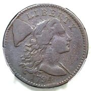 1794 S-61 R-4 Pcgs F 15 Head Of 94 Liberty Cap Large Cent Coin 1c