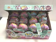 Lot Of 18 Pikmi Pops Surprise Doughmis Donut Plush New Sealed Free Shipping