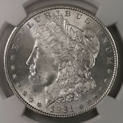 1881-s Morgan 1 Ngc Certified Ms67 High End Mint State Graded Us Silver Dollar