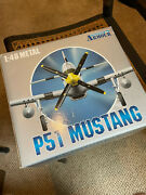 Armour Collection 148 Scale P51 Mustang Short Fuse Sallee Nib