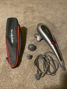 Brookstone Active Sport Variable Speed 3-heads Personal Body Massager F-271