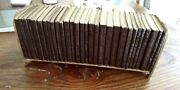The Holy Bible - Vintage 30 Volume Set - The Little Leather Library