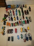 Huge Lot Of Thomas The Train Motorized Tomy Engines Cars Tracks Accessories