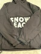 Polo Snow Beach Polo Black And White Pullover Jacket Size L