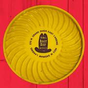 Arby's W/roast Beef Sandwich Is Delicious Yellow Ashtray East Lansing Michigan