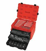 Craftsman 1/43/81/2 In. Drive Metric And Sae 268pcs 12 Point Mechanicand039s Tool Set