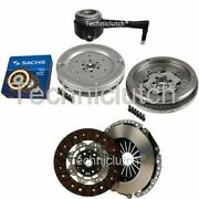 2 Part Clutch Kit And Sachs Dmf With Csc For Vw Golf V Estate 1.9 Tdi 4motion