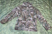 Us Army Multicam Soft Shell Jacket Cold Weather Large Reg - Ocp Level 5