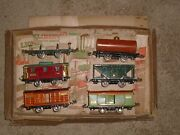 Lionel Prewar O Gauge 808 Lionel Boxed Set Of Freight Cars From 1928