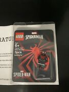 Lego Spider-man Miles Morales Minifigure Playstation 2020 Sweepstakes Rare