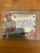 2021 Topps Dylan Carlson Auto 7/10 Signature