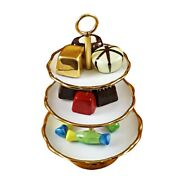 Rochard Limoges Sweet Tray With Removable Candies Trinket Box
