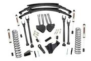 Rough Country 8in Ford 4-link Lift System W/v2 Shocks 05-07 F-250/350 4wd diesel