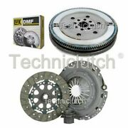 Nationwide 3 Part Clutch Kit And Luk Dmf For Bmw 5 Series Saloon 523i