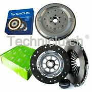 Valeo 3 Part Clutch Kit And Sachs Dmf For Audi A6 Saloon 1.9 Tdi