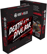 Hunt A Killer Death At The Dive Bar, Immersive Murder Mystery Game - New