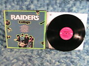Raiders Collage With Paul Revere Lp Record Columbia Cs9964 Stereo