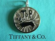 Nib And Co Top Dog Dachshund Coin Charm Sterling Silver 4 Bracelet Pendant