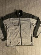 Fooyjoy Menand039s Full Zip Fleece Golf Jacket Sweater Charter Oak Country Club Large