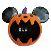 Disney Mickey Mouse Halloween Candy Bowl Rare Brand New Never Used Free Ship