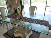 Table Runner Tablecloth Xmas Party Christmas Holliday Decorations Quilted