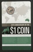 2014 1 Coloured Mor Aust Carded Coin Ex Mint Set Unc - Free Domestic Postage -