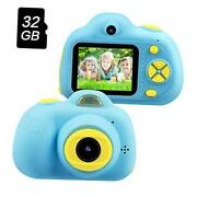 Best Birthday Gifts For Boys Age 3-8 Kids Digital Video Camera For Blue