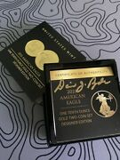 American Eagle One-tenth Ounce Gold 2 Coin Set Designer Edition Hand Signedandnbsp