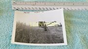Ac0199 Allis-chalmers Photograph, Media Archive Tractor Harvesting Wheat