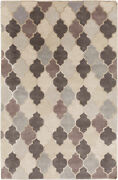 Surya Mugal Hand Knotted Area Rug 5and039 X 8and039 In8616-58
