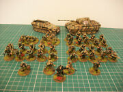 Painted 28mm Ww2 Bolt Action German Waffen Ss 1500 Points Army Miniatures