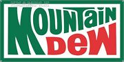 Mountain Dew Soda Pop 70s Style Vintage Old Sign Remake Aluminum Size Options