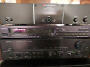 Denon Pra-1000 Stereo Preamplifier With Tuner And Amplifier Bundle