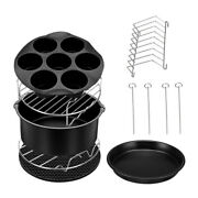 1 Set Of Air Fryer Accessories Bbq Grill Bbq Cooking Set For Home Kitchen Party