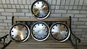 Vintage Chevrolet Wheel Cover Hubcaps 4 16 10 Hole Type Like New 1988-1992