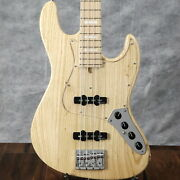 Bacchus Woodline 417ac Natural/oil Used Made In Japan Ash Body W/soft Case