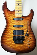 Aircraft Ac-5 Used Before 2005 Bar Maple Neck Made In Japan W/hard Case