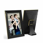 Nixplay 10.1 Inch Touch Screen Smart Digital Picture Frames With Wifi - Share...