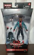 Hasbro Marvel Legends Series Spider-man Into The Spider-verse Miles Morales New
