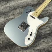 Fender Made In Japan Limited Fhole Telecaster Thinline Mystic Ice Blue 6 String